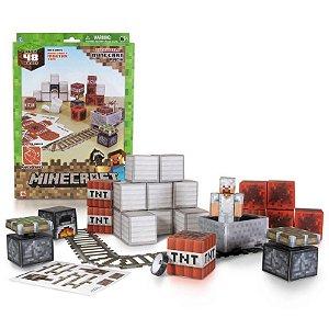 Conjunto Minecraft - Papercraft - Minecart