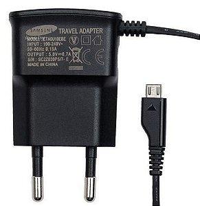 Carregador de Parede Samsung Micro USB - Galaxy Ace, Galaxy S2, S3, S4