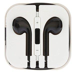 Fone De Ouvido Yes Para Iphone Ipad Ipod - Preto