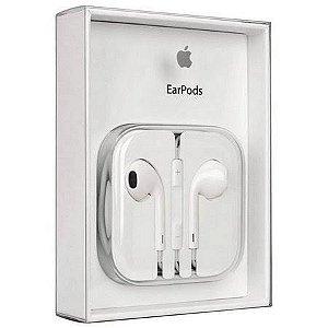 Fone de Ouvido EarPods P2 3,5 mm para iPhone 4, 5 e 6 - com Microfone