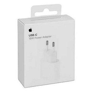 Fonte 18W USB-C Pra iPhone XR, Iphone 11 e iPhone 12