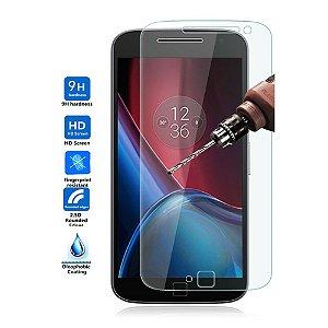 Película de Vidro Temperado para Smartphone Motorola Moto G4