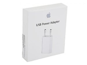 Carregador USB Tomada de 5W Apple Original para Iphone Md813zm/A Usb Power Adapter