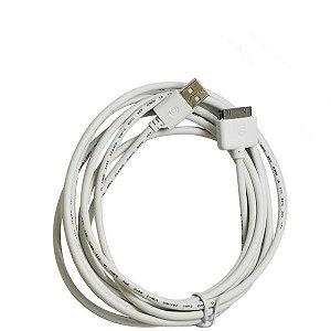 Cabo de Dados USB de 3 Metros Inova para Apple Lightning - iPhone 3 e 4