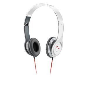 Headphone Multilaser Hot Beat Powerphone Branco - Ph067