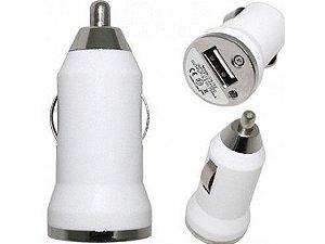 Mini Fonte Carregador Veicular USB Universal 5v