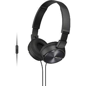 Fone de Ouvido Headphone Sony MDR-ZX320 Com EXTRA BASS Preto