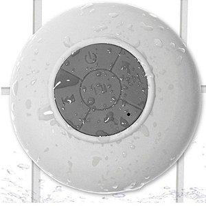 Caixa de Som Bluetooth a Prova D´água - Branco