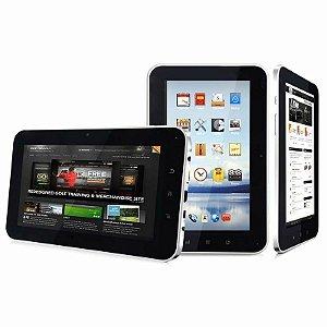 Tablet Freecel Freepad F-704 Branco, Processador Boxchip A10 1.2GHz, 4GB, Wi-Fi, USB, Câmera Frontal