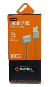 Cabo de Dados 30 Pinos para iPhone 4 PMCELL Preto CROMO-621