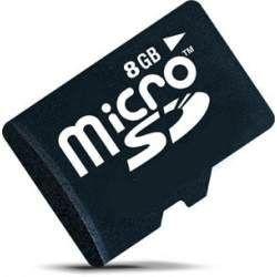 Cartão de Memória Micro SDHC 8GB com Adaptador SD - Classe 4