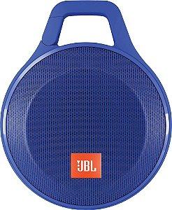 Caixa de Som Portátil JBL Clip + Azul Bluetooth