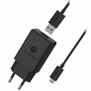Carregador Motorola/Lenovo Turbo Power 15W Qualcomm Quick Charge 3.0 - Micro USB
