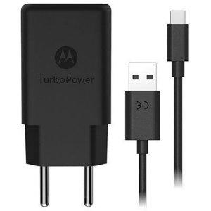 Carregador Motorola/Lenovo Turbo Power 15W - Cabo Tipo C