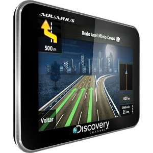 GPS Automotivo Discovery CHANNEL 3,5 Ultra Slim Hard - Aquarius