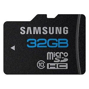 Cartão de Memória Micro Sd Hc Tf 32GB Samsung Classe 10