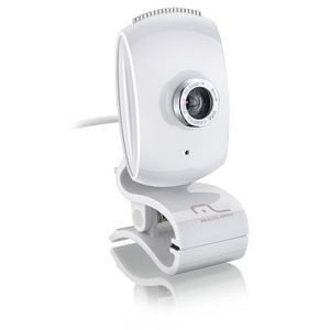 WebCam Multilaser FaceLook 16 MP Plug & Play White - WC047