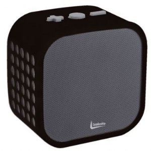 Caixa de Som Leadership Cubo sem Fio Bluetooth Preta 4432