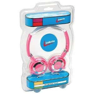 Headphone Leadership Travel Rosa - 2767