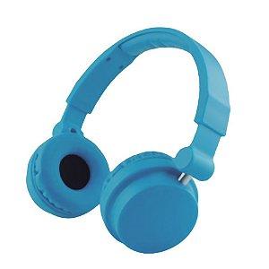 Headphone Cool Colors Leadership com Microfone Azul - 2791