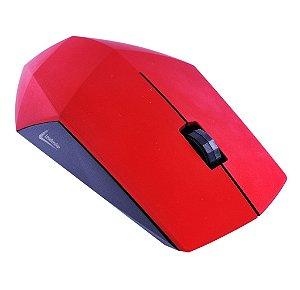 Mouse Óptico Leadership USB Diamond Vermelho 1232