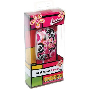 Mini Mouse Florais USB Leadership - 3415