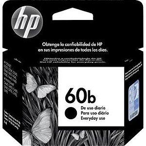 Cartucho de Tinta HP 60b Preto - CC636WB