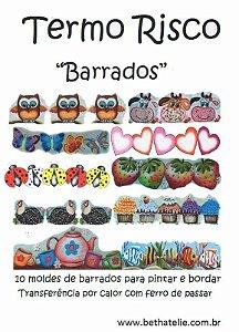 """Apostila Termo Risco """"Barrados Variados"""""""