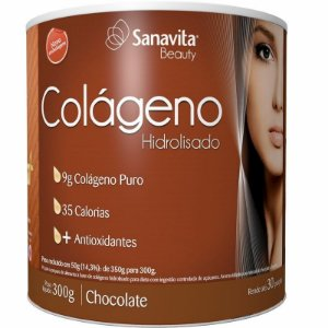 COLÁGENO SANAVITA CHOCOLATE - 300G