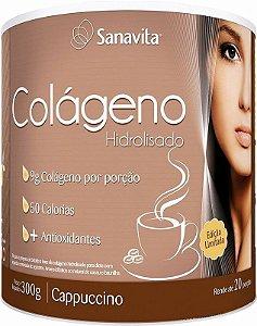 COLÁGENO SANAVITA CAPPUCCINO - 300G
