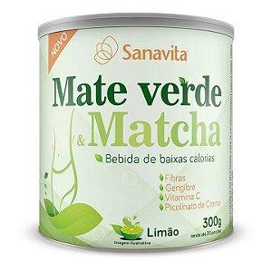 MATE VERDE & MATCHA SANAVITA