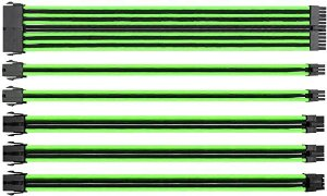 Cabo Sleeved Verde Neon - Thermaltake