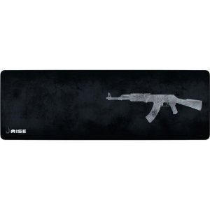 Mouse Pad Gamer Sniper Cinza Rise Gaming - Rise Mode