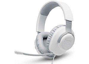 Headset JBL Quantum 100 Branco USB - JBL