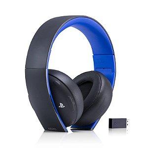 Headset Sony Gold Stereo Sem Fio
