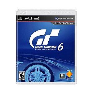 Jogo Gran Turismo 6 -  PS3