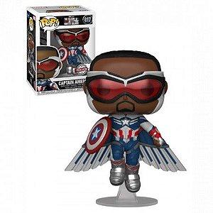 Boneco Funko Pop Captain America #817 - Marvel Studios