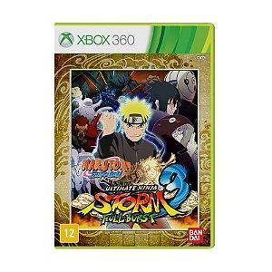 Jogo Naruto Shippuden: Ultimate Ninja Storm 3 (Full Burst) - Xbox 360