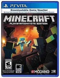 Minecraft - Ps VITA - Download Voucher Jogo Online