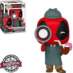 Boneco Funko Pop Sherlock Deadpool #784 - Deadpool