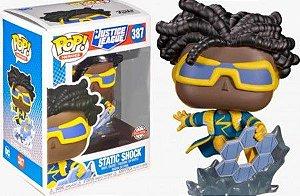 Boneco Funko Pop Static Shock #387 - Justice League