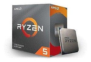 Processador Ryzen 5 3600 4,2 GHZ Unlocked, 35 MB Cache - AMD