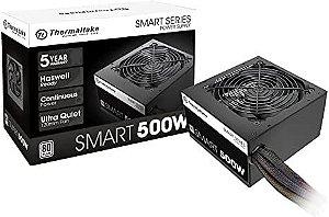 Fonte Smart Series 500W 80 Plus - Thermaltake
