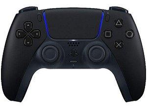 Controle Sem Fio Dualsense Mindinight Black Playstation 5 - PS5