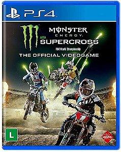 Jogo PS4 Monster Energy