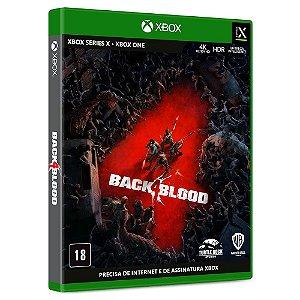 Jogo Back 4 Blood - Xbox - Pré-venda