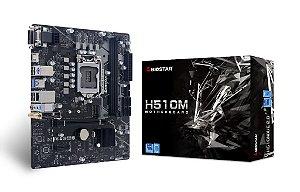 Placa Mae Biostar H510M 1200 DDR4 Intel