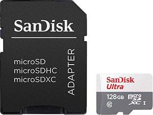 Cartão de Memória Sandisk 128GB Classe 10