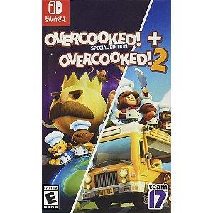 Jogo Overcooked + Overcooked 2 - Switch