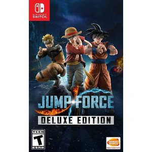Jogo Jump Force - Deluxe Edition - Switch